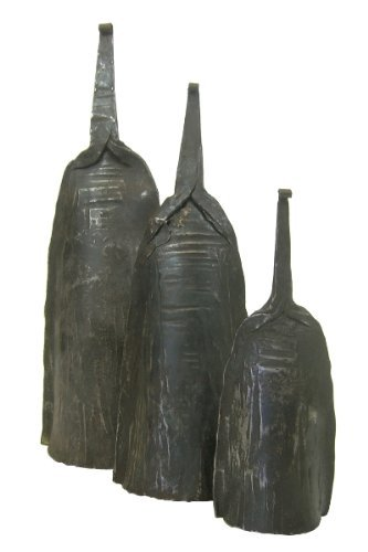 Alo Bell Set - Togo Iron Bell - Set of 3