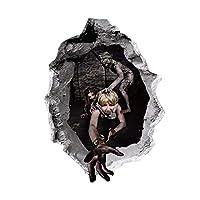 Takarafune ハロウィン ウォールステッカー ハロウィン 魔女 かぼちゃ 壁 装飾 デコレーション 壁紙シール 3D ウォールステッカー 窓 ステッカー DIY 雑貨