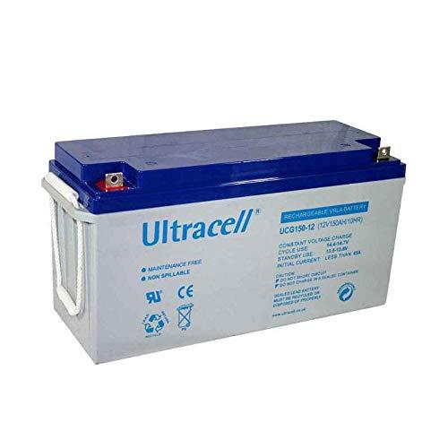 Batería Gel Solar 12V 150Ah UCG Ultracell