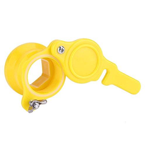 BYARSS Absperrschieberwerkzeug, Bee Honey Mesh Tap Absperrschieberwerkzeug Imkereiextraktor Abfüllanlage
