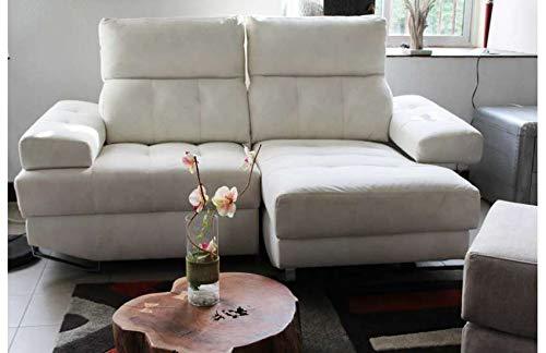 Sofá de diseño modular, tejido beige Valencia