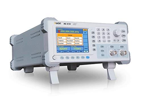 YAOSHI Osciloscopio de Mesa Single Channel 150MHz 400 ms/s 14 bits Generador de señales Generador de Onda arbitraria AG4151 Osciloscopio Digital de Laboratorio