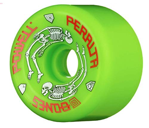 Powell Peralta G-Bones 97A Skateboard Wheels (Green, 64mm)