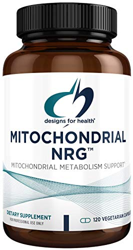 Designs for Health Mitochondrial NRG - Energy, Healthy Aging + Performance Support Formula with Creatine, CoQ10, B12, Alpha Lipoic Acid + More - Mitochondria Support Supplement (120 Capsules)