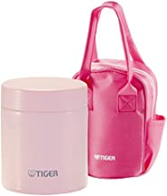 Tiger Corporation MCJ-A050 Stainless Steel Food Jar, 16 oz, Framboise Pink