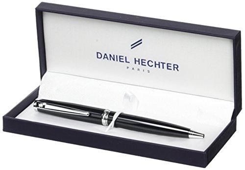 Daniel Hechter Challenger Stylo à bille rétractable Laqué Noir