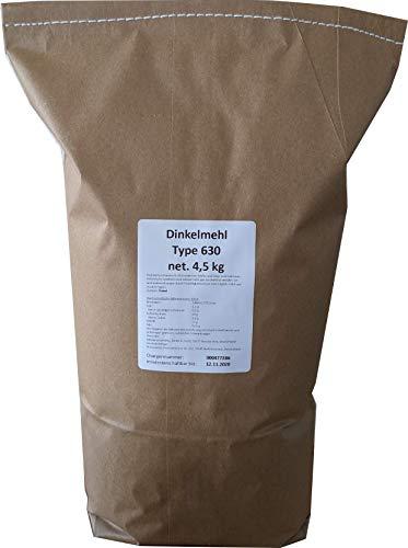 4,5 kg Dinkelmehl Type 630