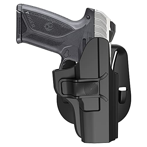 Security 9 Holster, OWB Paddle Holster for Ruger Security...