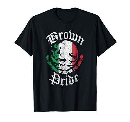 Brown Pride T-Shirt | Mexican Flag Tshirt Gift