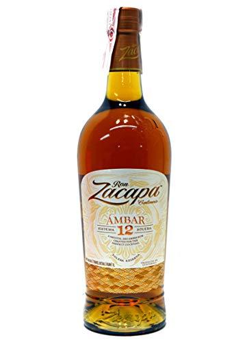 Ron Zacapa Centenario Ambar Sistema 12 Anni Solera Reserva Rum - 1000 ml