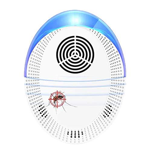 Ultrasónico Repelente De Plagas, Seguro De Control De Plagas De Ultrasonidos Repelente De Insectos Electrónico con El Medio Ambiente para Las Hormigas Polillas Ratas Ratones, Etc,1