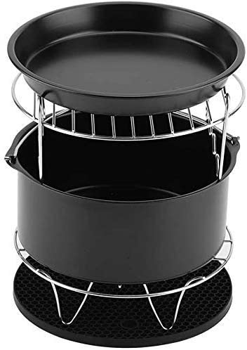Mail order YLCJ 5pcs Set Accessories air New Free Shipping Fryer Basket Grill Pizza fit Pla