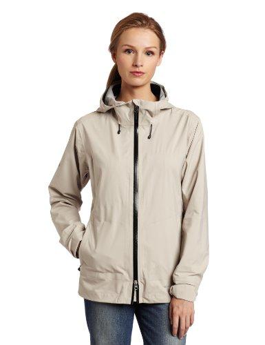 Big Sale ExOfficio Women's Rain Logic Jacket,Stone,Medium