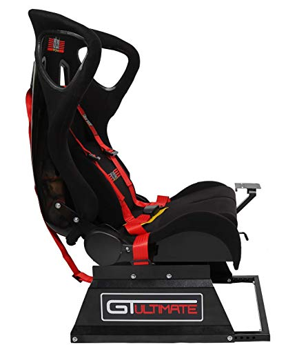 Next Level Racing GTultimate Seat Add On pour Wheel Stand - Siège baquet additionnel pour convertir son Wheel Stand en Cockpit GTultimate V2