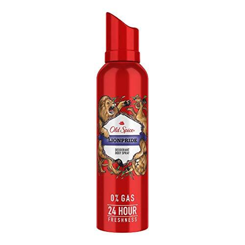 Old Spice Lionpride No Gas Deodorant Body Spray Perfume, 140 ml