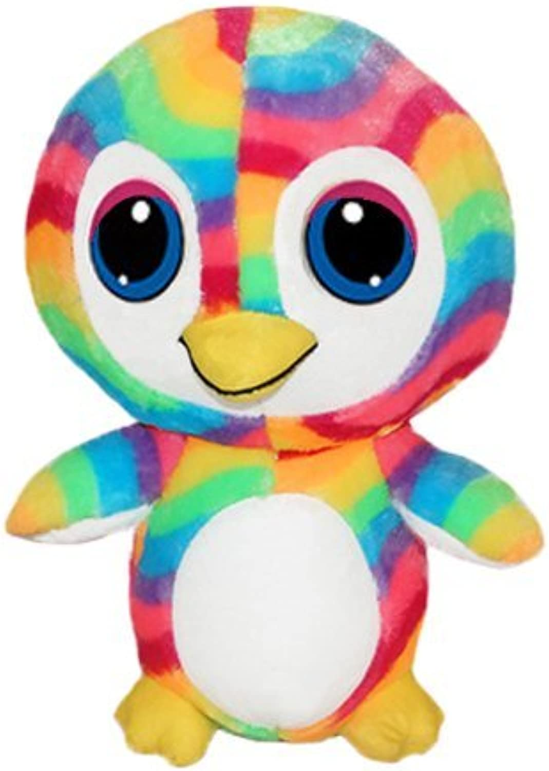 ToySource Rainbow Pink Toy, Collectible Plush 26 5 Penguin