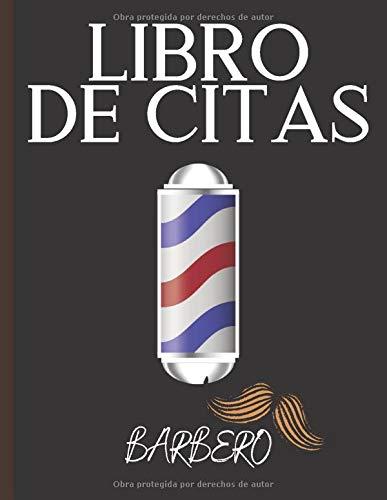 Libro de citas: Diario de citas para peluquería y barbería - anote fácilmente sus citas diarias para su salón de belleza masculino - 1 caja cada 15 minutos de 8 A.M. a 7 P.M.