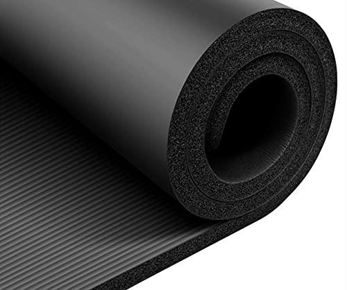 Yoga Mat 30mm Tappetino Di Fitness Per Bambini 20mm Tappetino Per Il Pavimento Domestico 20mm (principiante) 20mm di spessore-nero