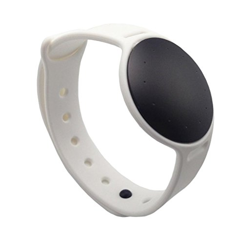 Kokiya New Sports TPE Replacement Strap Wrist Band for Misfit Shine 2 Watch Belt - White, as described