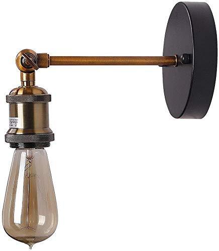 AISHANG Lámpara de Pared Antigua, lámpara de Pared LED de ático Industrial Simple, Mecedora de...