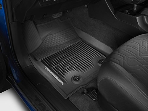 TOYOTA Genuine PT908-36164-20 Black All Weather Floor Liners