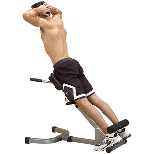 Body-Solid Powerline 45-Degree Hyperextension Bench (PHYP200X)