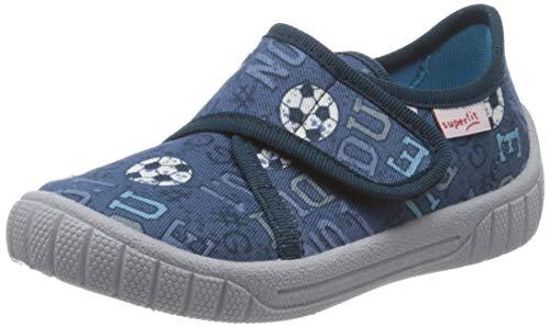 Superfit Bill, Zapatillas de Estar por casa para Niños, Azul (Blau 80), 35 EU
