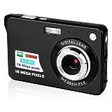 CamKing Appareil Photo Numérique, CDC3 2,7 Pouces TFT LCD HD Mini Zoom Caméra, 8X Digital Caméra Vidéo Numérique pour Les...