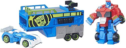 Transformers Hasbro - Playskool Rescue Bots Robot Optimus PrimeRacing Trailer