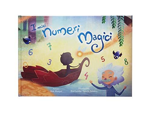 Libro bambini personalizzato: I miei numeri magici di My Magic Story - Regalo di compleanno battesimo primo giorno di scuola idea regalo per femmine e maschi che iniziano a leggere e bambini 0-10 anni