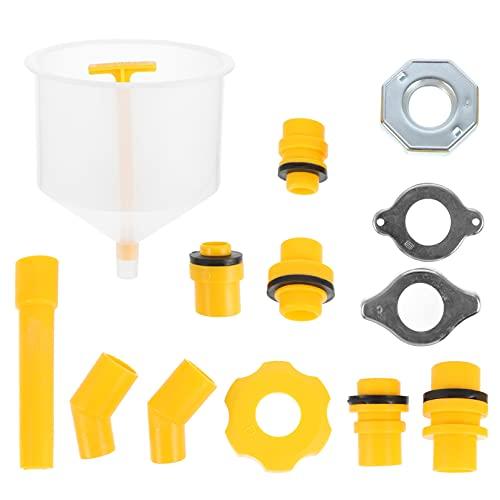 VICASKY 1 Juego sin Derrames de Refrigerante Embudo sin Derrames Radiador Kit de Embudo de Llenado de Refrigerante Radiador con Adaptadores para Vehículos Universales
