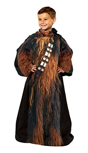 New Star Wars Chewbacca Comfy Throw Blanket With Sleeves