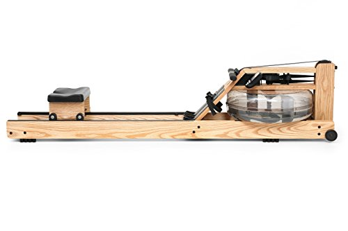 Water Rower - Vogatore in Frassino con Monitor S4, 210 x 56 x 53 cm