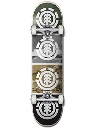 Element Skateboard Complete Deck Camo Quadrant 8.0