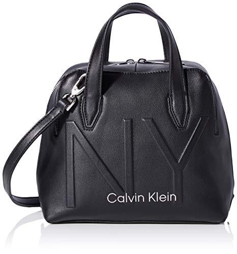 Calvin Klein Women's Shaped Sml Duffle Cross-Body Bag Black (Black), 12x20x22 cm (W x H x L)