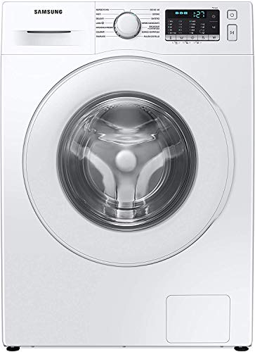 Samsung WW90TA046TT/ET Lavatrice 9 kg, Crystal Clean, 1400 Giri, Bianco