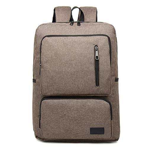 Borse per Notebook e Accessori Moda di Grande capienza Notebook Backpack Casual Tablet (Nero) Ctj (Colore : Brown)