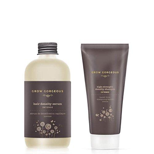 Croissance Magnifique Sérum de la pousse des cheveux Intense et densité Shampooing Intense