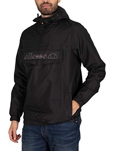 ellesse Herren Exklusive Mono Mont Pullover Jacke, Schwarz, XL