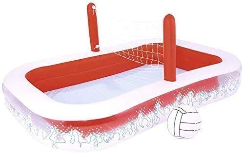 HJQFDC Faltbad, Kinderbecken-Volleyballspiel, Ozean-Ball-Pool, Familienbecken, aufblasbarer Wasserpark Party Spielzeug Peng MEI