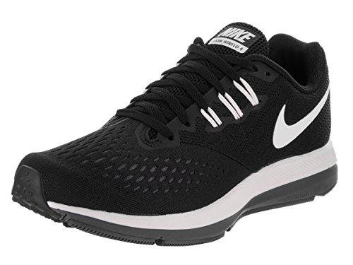 NIKE New Women's Zoom Winflo 4 Running Shoe Black/White/Grey 7.5