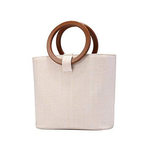 JOSEKO Bolso de playa de verano, bolso de hombro para mujer, bolso...