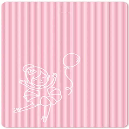 NZKW Estera de Yoga 200Cm * 160Cm * 15Mm Estera de Yoga Doble Espesar, ensanchar y alargar Estera del Piso Estera de Gran tamaño Antideslizante para el hogar Estera de Ejercicios de BAI