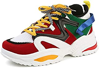 MR.SHOES 2019 Height Increase 6cm Men Sport Running Shoes Lace Up Cushion Man EAF or ABO Sneaker Breathable Outdoor Walking Jogging Trekking Shoes Athletic high Heel Cushion