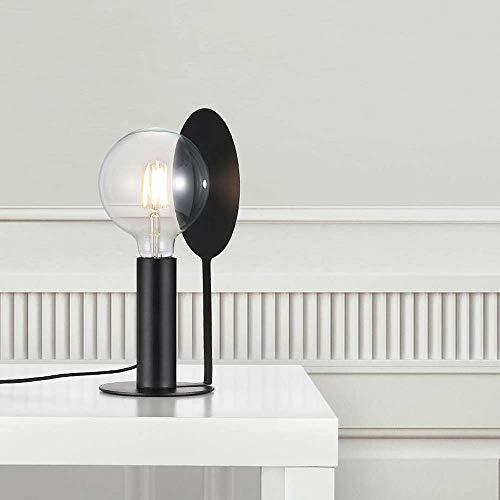 Nordlux Tischlampe Dean Disc Schwarz