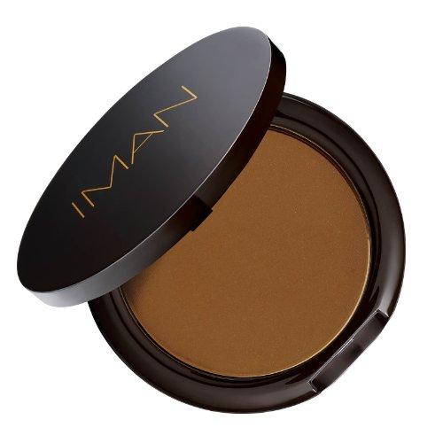 IMAN Cosmetics Second To None Luminous Foundation, Dark Skin, Earth 3