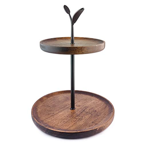 wooden tiered cupcake stand - 6