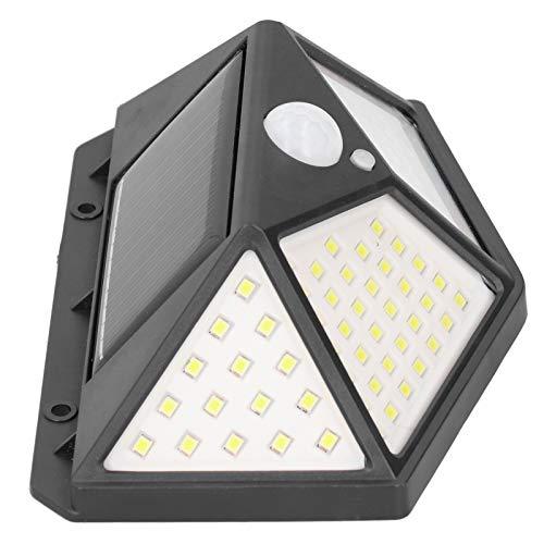 Aplique de pared, lámpara con sensor de infrarrojos, clasificación de impermeabilidad IP65 Protección ambiental para pasillos, jardines, patios, balcones