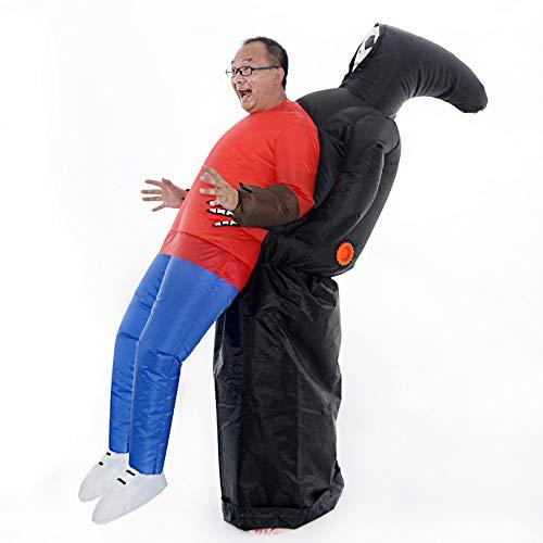 Feest DIY Decoraties - Leuke Skeleton Ghost Opblaasbare Kostuum Partij DIY Decoratie Grappige Fancy Jurk Pak Grim Reaper Catch - Decoraties Partij Decoraties Kunstmatige Regenboog Decor Jaar Wi