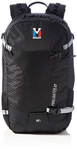 Millet Prolighter 22 Mochila Unisex para Alpinismo y Esquí de Fondo Volumen de 22 L, Negro, U